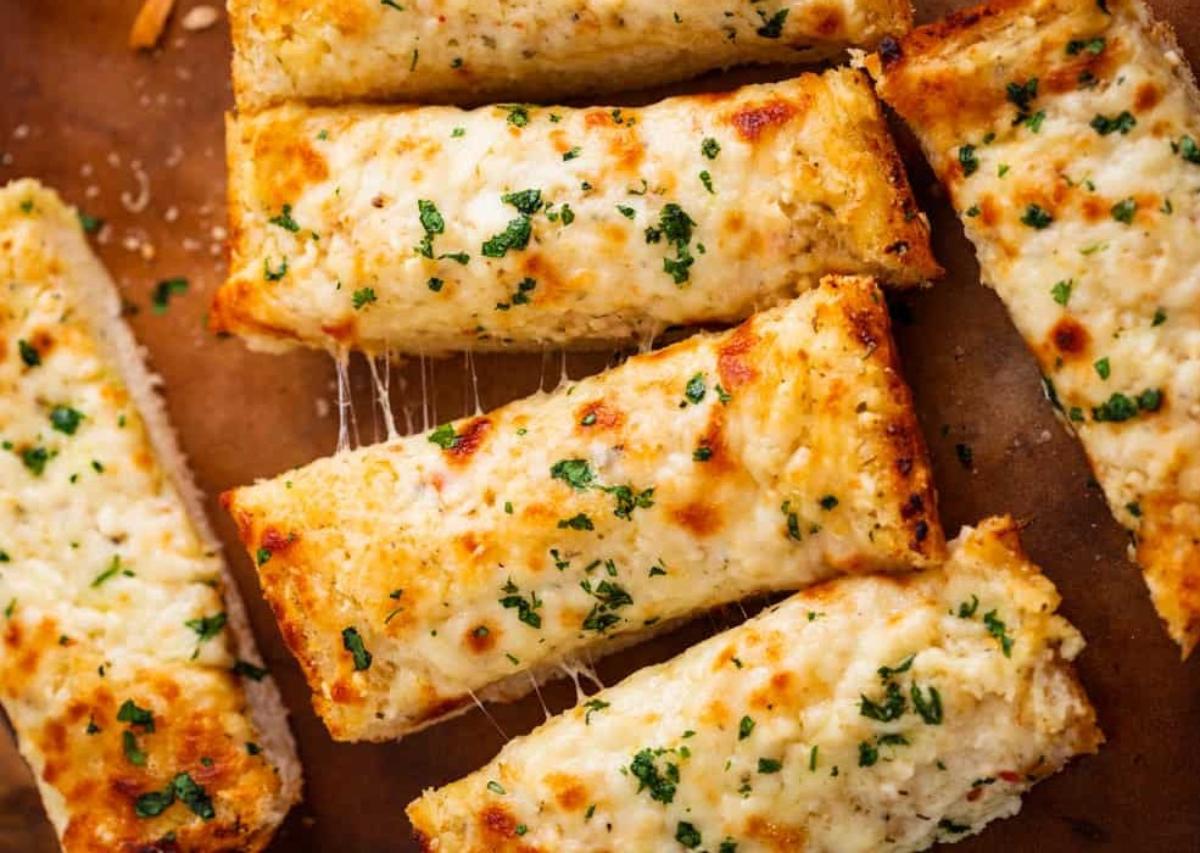 Garlic Bread Recipe by Cooking Teach