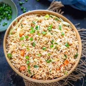 Vegetable Fried Rice By Cooking Teach