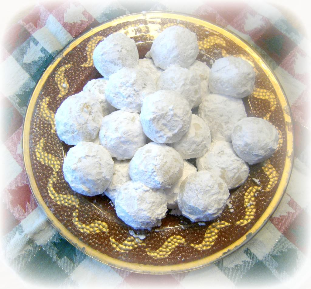 Snowball Cookies Recipe | Christmas Cookies