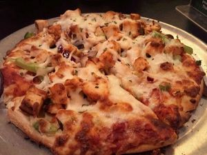 Chilly Chicken Pizza Recipe By Cooking Teach