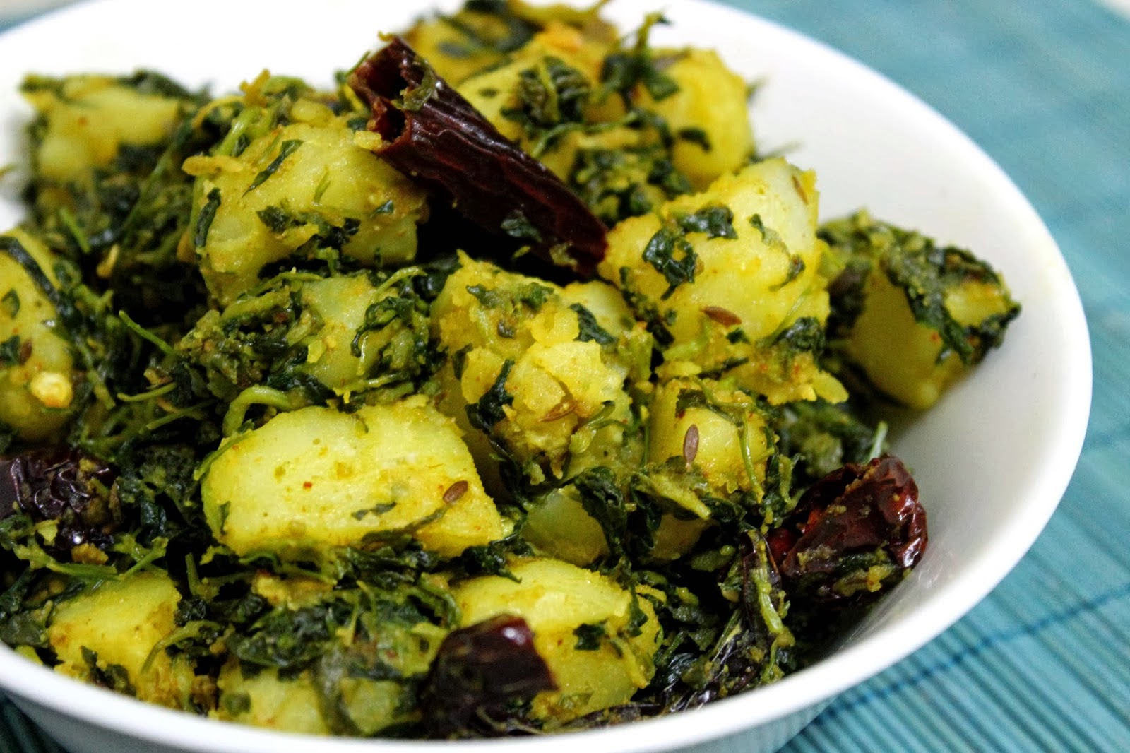 Aloo Methi Recipe Recipe By Cooking Teach