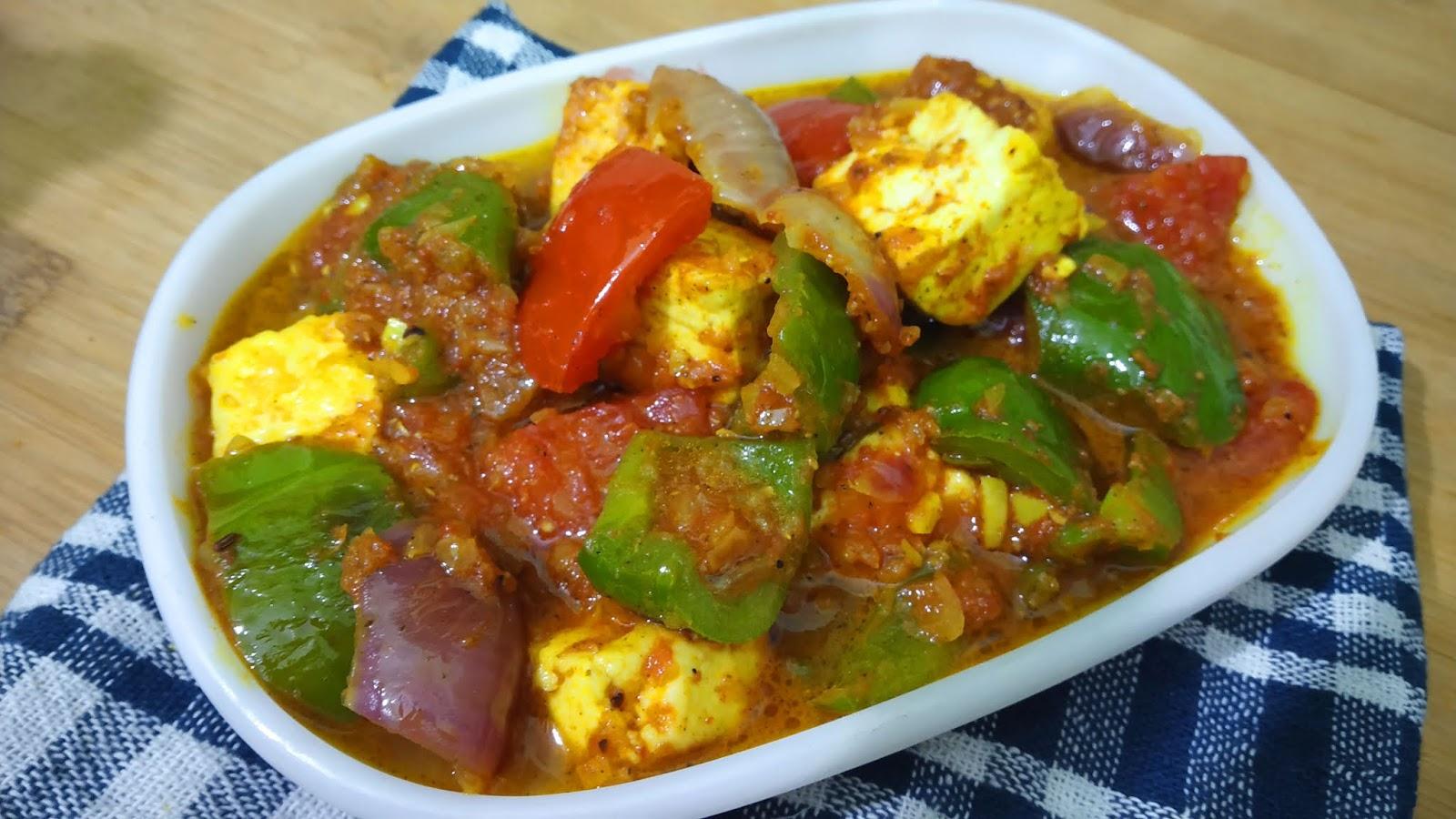 Kadai Paneer By Cooking teach