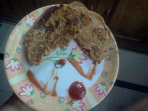 Besan Puda Recipe by cooking Teach