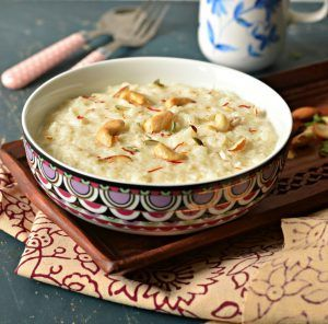 Rice Kheer Recipe by Cooking Teach