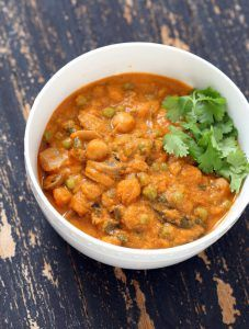 Mushroom Matar Masala by Cooking Teach