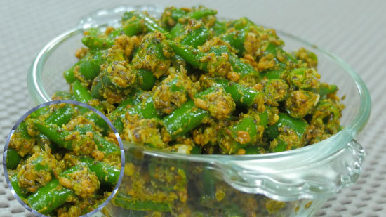 Green Chilli Pickle  by Cooking Teach