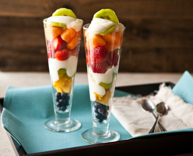 Fruit Dessert Recipe by Cooking Teach