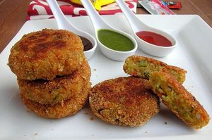 Mixed Vegetable Cutlet  by Cooking Teach