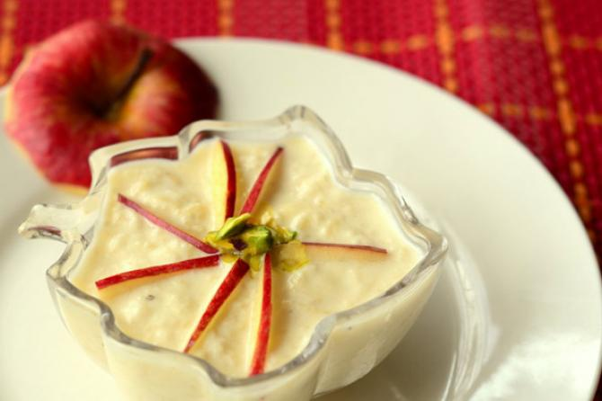 Apple Kheer Recipe by Cooking Teach