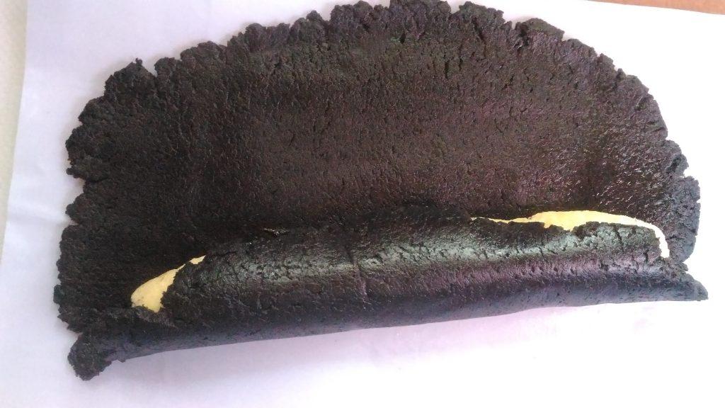 oreo swiss roll preparation - cooking teach